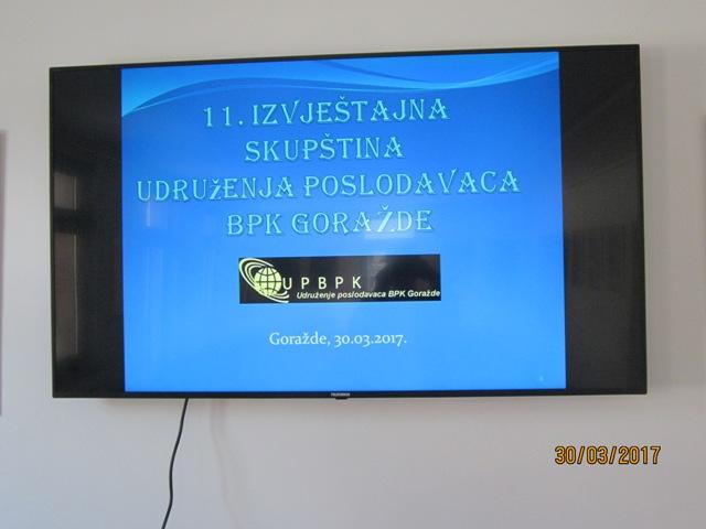 You are browsing images from the article: Održana jedanaesta Izvještajna Skupština Udruženja poslodavaca BPK Goražde
